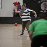 Photo 1 - Sheriff Rick Dunlap Throws a Dodgeball